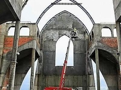 budowa kościoła 10