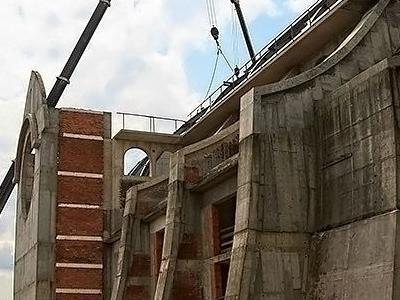 budowa kościoła 14