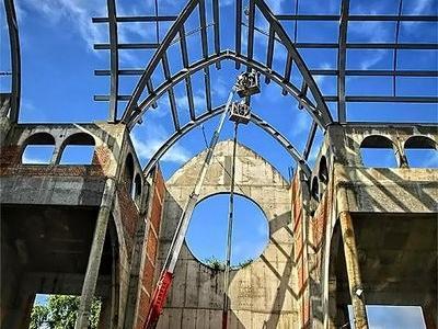 budowa kościoła 38